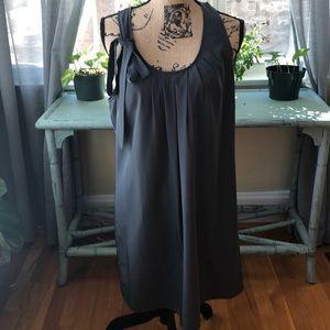 J Crew gray popover dress - NEW